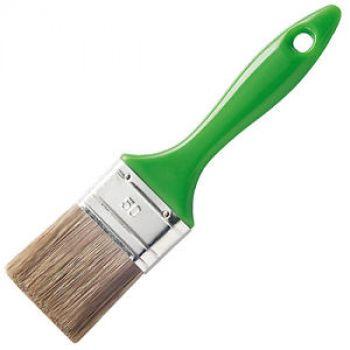 Кисть плоская для антисептиков 50мм МАКО Зеленая