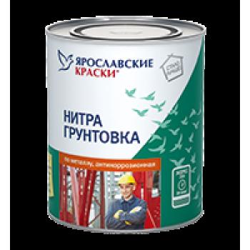 Нитрогрунтовка по металлу антикоррозионная серая, банка 0,7 кг