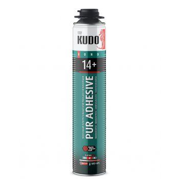 Клей-пена полиуретановый монтажный профессиональный всесезонный KUDO PROFF 14+ APS