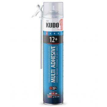 Клей-пена полиуретановый монтажный бытовой всесезонный KUDO НОМЕ 12+