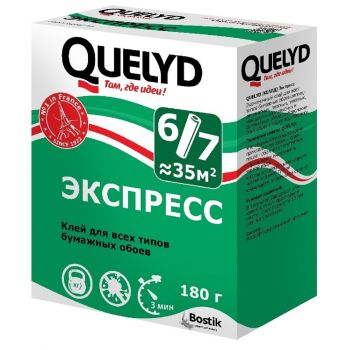 Клей Quеlyd экспресс 180г/36